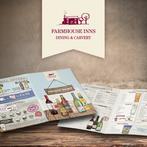 Farmhouse Inns Drinks Menu