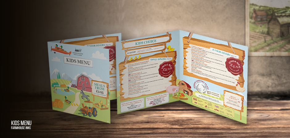 Farmhouse Inns Kids Menu